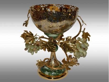 Интерьерная дизайнерская ваза из Златоуста